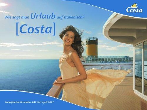 COSTA Katalog 2016/17