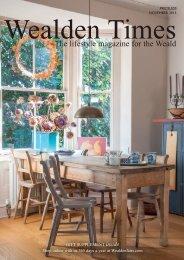 Wealden Times | WT165 | November 2015 | Gift supplement inside