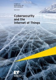 Cybersecurity and the Internet of Things