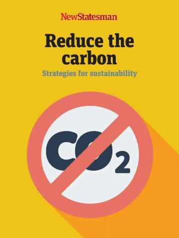 Reduce the carbon