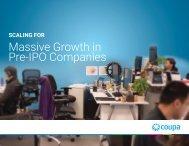 Massive Growth in Pre-IPO Companies