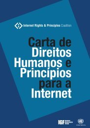 Princípios para a Internet