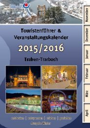 Touristenführer & Veranstaltungskalender Winter 2014/2015