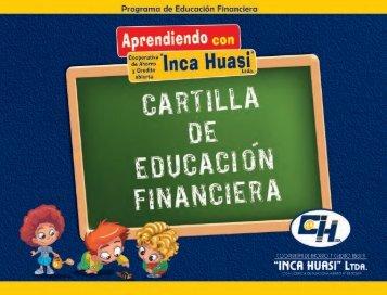 1. Cartilla de Educación Financiera