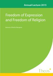 Freedom of Expression and Freedom of Religion
