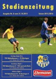 20151031 08 Stadionzeitung TSV Babenhausen - TV Woringen