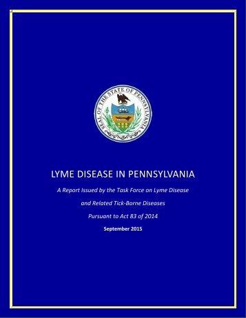 LYME DISEASE IN PENNSYLVANIA