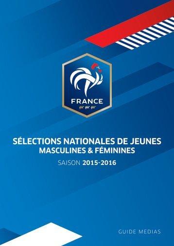 SÉLECTIONS NATIONALES DE JEUNES
