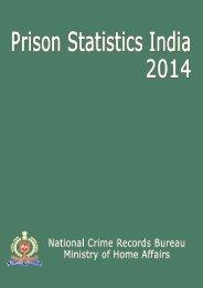 PRISON STATISTICS INDIA 2014