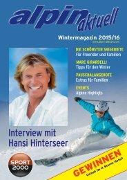 Wintermagazin Alpin Aktuell