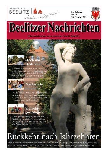 Beelitzer Nachrichten - Oktober 2015