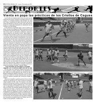 Deportes - La Semana