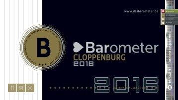 BAROMETER CLOPPENBURG | Limitierte Ausgabe 2016