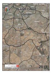 PLANO CALLE Getafe - Comunidad de Madrid
