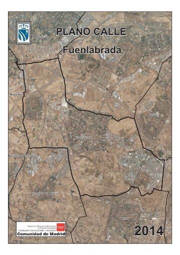 PLANO CALLE Fuenlabrada - Comunidad de Madrid