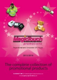 Magic Touch Catalogue
