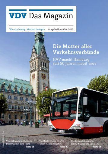 VDV Das Magazin Ausgabe November 2015