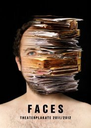 Faces – Theaterplakate