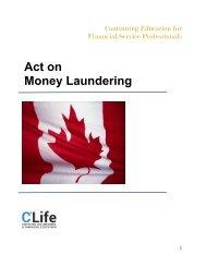 Act on Money Laundering
