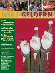 dasStadtMagazin Nr.6|2010|Dezember - WIR in Geldern