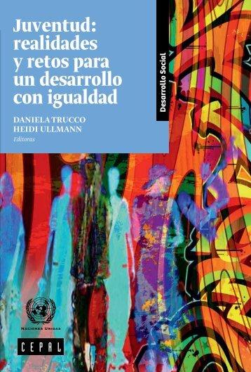Juventud: realidades y retos para un desarrollo con igualdad