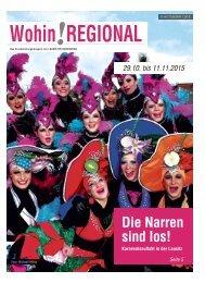 Wohin! Regional 29.10 – 11.11.2015