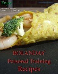 Rolandas Personal Training Recipes