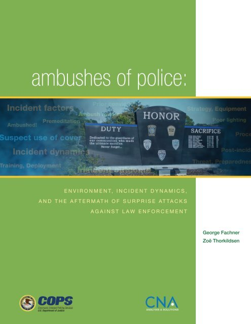 ambushes of police