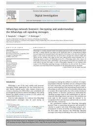 content compelling comprehensive between investigations communications