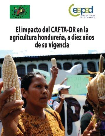 El impacto del CAFTA-DR en la agricultura hondureña a diez años de su vigencia