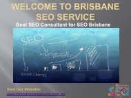 Web Marketing Experts | Search Engine Optimization | SEO Consultant Brisbane
