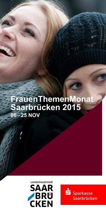 FrauenThemenMonat Saarbrücken 2015