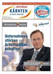 Zeitung Jänner.qxd - Zentrum Kärnten in Wort und Bild