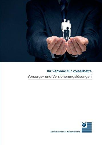 Schweizerischer Kaderverband SKV - Ihr Verband für vorteilhafte Vorsorge- und Versicherungslösungen