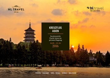 HL TRAVEL Kreuzflug Asien