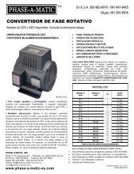 CONVERTIDOR DE FASE ROTATIVO