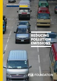 REDUCING POLLUTION EMISSIONS
