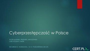 Cyberprzestępczość w Polsce