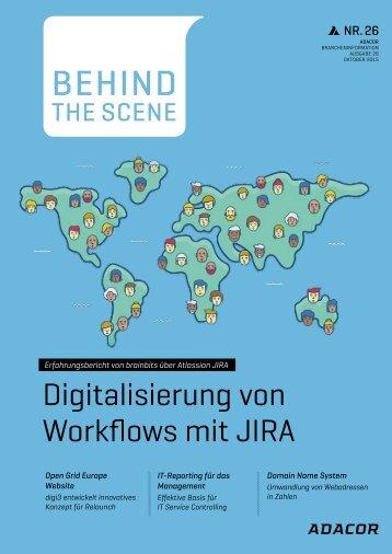 Digitalisierung von Workflows mit JIRA