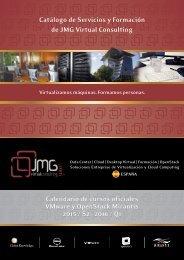 Catálogo de Servicios y Soluciones JmG - Jose Maria Gonzalez