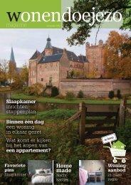 WonenDoeJeZo Noord-West Nederland, editie november 2015