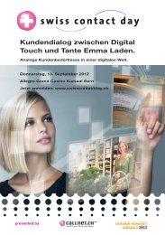 Kundendialog zwischen Digital Touch und Tante Emma Laden.
