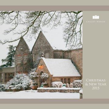 Christmas & New Year 2015