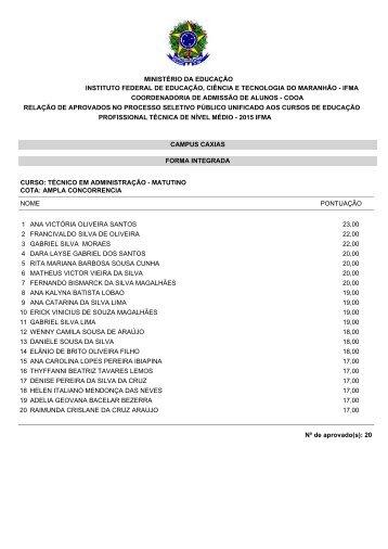 A PRÓ-REITORIA DE ENSINO DO INSTITUTO FEDERAL DE ...