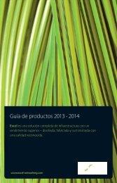 Guía de productos 2013 - 2014