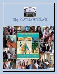 Cartilla Tit@ Halcones de Cultura Digital - Nutrición Humana