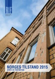 NORGES TILSTAND 2015
