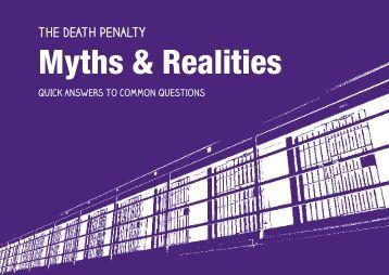 Myths & Realities