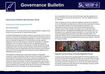 Governance Bulletin #02 (October 2015)