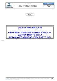 G-DSM-147-01 - Agencia Estatal de Seguridad Aérea